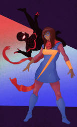 Kamala and Miles by Arc-Tangent