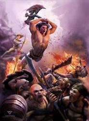 Barbarian by samrkennedy