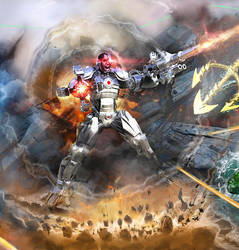 Cyborg -- Justice League by samrkennedy
