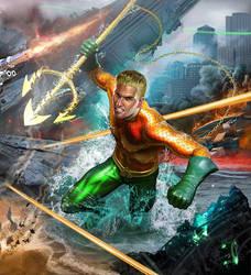 JusticeLeague Aquaman Kennedy by samrkennedy