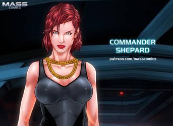 Commander Shepard by Eromaxi