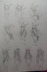 SB Sketch 19: Old designs for Amy Feather by Christarmewn