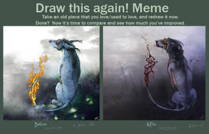Draw This Again meme - Hollow by Rametic