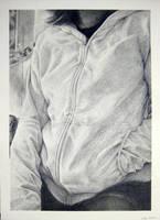 Hoodie Self Portrait by Hinatachan