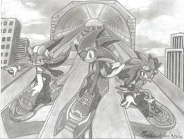 sonic riders- let's race by silentmoon-chan