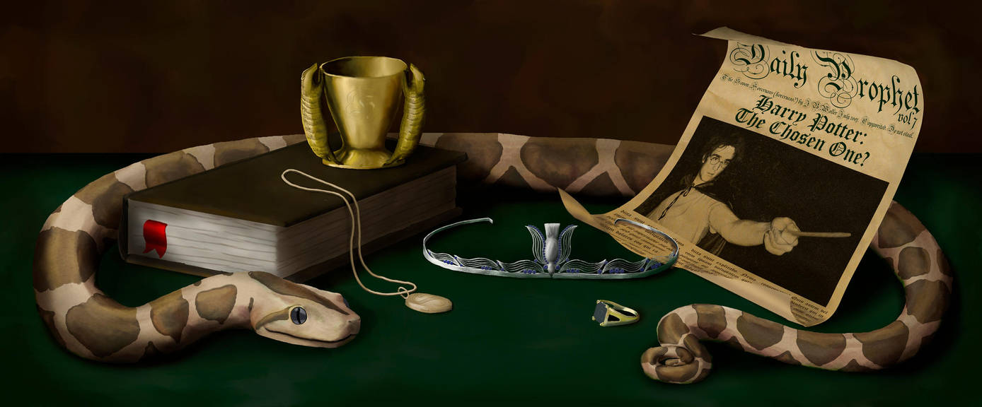 HR:DH -- The Seven Horcruxes by JBWolfer