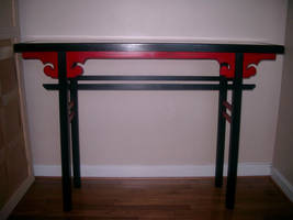 Chinese Altar Table by JBWolfer