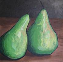 Pair of Pears by JBWolfer