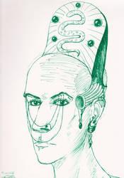 Inktober #31 - 'Friend' by Penstray