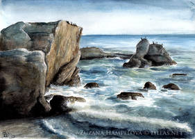 Seashore by Lillian-Bann
