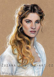 Vittoria Puccini by Lillian-Bann