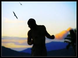 Sunset dance by mutato-nomine
