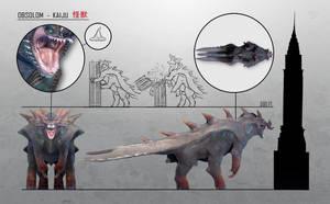 Obsolom Kaiju Sheet by RiptorCPV