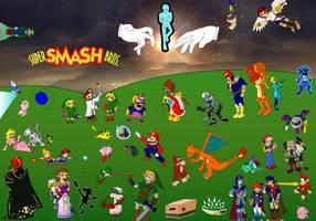 Super Smash Brothers! by mortimermcmirestinks