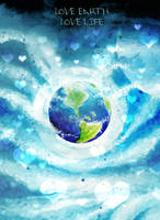 Go green and love earth by Doll1988