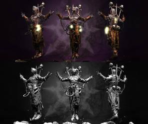 Chaos Psyker 3D by kenfan0206