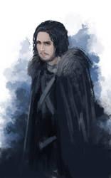 Jon Snow by sunsetzero