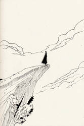 Inktober2017 - Mysterious by sunsetzero