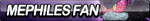 Mephiles Fan Button (Edited) by ButtonsMaker