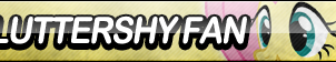 Fluttershy Fan Button (Edited) by ButtonsMaker