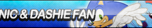 Sonic and Dashie Fan Button by ButtonsMaker