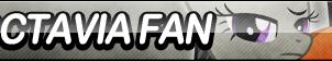 Octavia Fan Button by ButtonsMaker