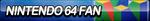 Nintendo 64 Fan Button by ButtonsMaker