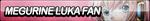 Megurine Luka Fan Button by ButtonsMaker