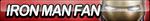 Iron Man Fan Button by ButtonsMaker