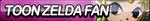 Toon Zelda Fan Button by ButtonsMaker