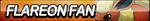 Flareon Fan Button by ButtonsMaker