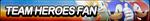 Team Heroes Fan Button by ButtonsMaker
