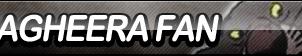 Bagheera Fan Button by ButtonsMaker