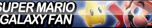 Super Mario Galaxy Fan Button by ButtonsMaker