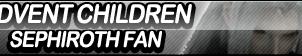 Advent Children: Sephiroth Fan Button by ButtonsMaker