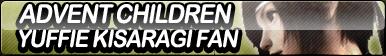 Advent Children: Yuffie Kisaragi Fan Button by ButtonsMaker