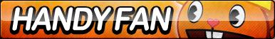 Handy Fan Button by ButtonsMaker