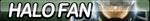 Halo Fan Button by ButtonsMaker