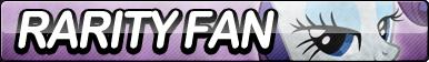 Rarity Fan Button by ButtonsMaker