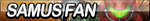 Samus Fan Button by ButtonsMaker