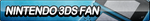 Nintendo 3DS (Cyan) Fan Button by ButtonsMaker