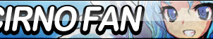 Cirno Fan Button by ButtonsMaker