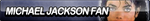 Michael Jackson Fan Button by ButtonsMaker