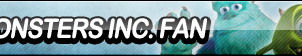 Monsters Inc. Fan Button by ButtonsMaker