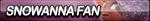 Snowanna Fan Button by ButtonsMaker