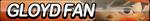 Gloyd Orangeboar Fan Button by ButtonsMaker