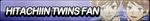 Hitachiin Twins Fan Button by ButtonsMaker