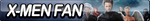 X-Men Fan Button by ButtonsMaker
