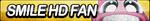 Smile HD Fan Button by ButtonsMaker