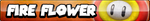 Fire Flower Button by ButtonsMaker